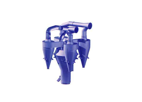 Combined raw material separato