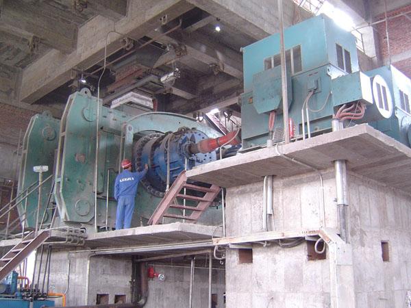 JDG roller press
